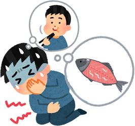 アニサキスによる食中毒(アニサキス症)